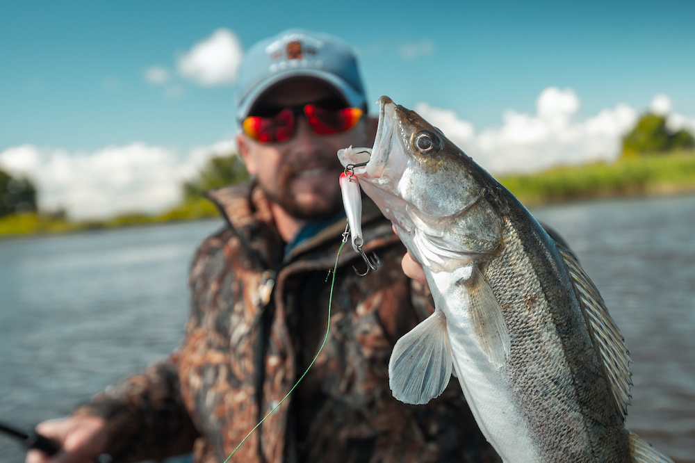 how to fish for walleye